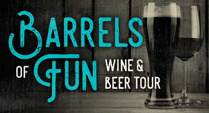 Barrels of Fun Wine and Beer tour